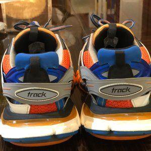 Balenciaga Shoes - Balenciaga Track Trainer 'Orange Grey' - Size 42